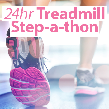 Saturday 6th April – 24 hour Step-a-Thon