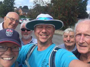 Dursley Lions walking group