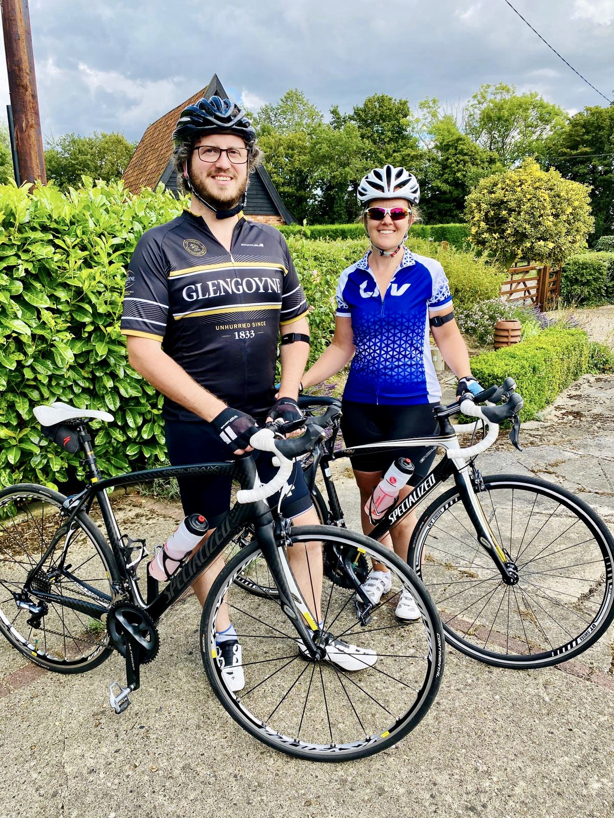 Kate and Andrews 100 mile cycle challenge around Norfolk