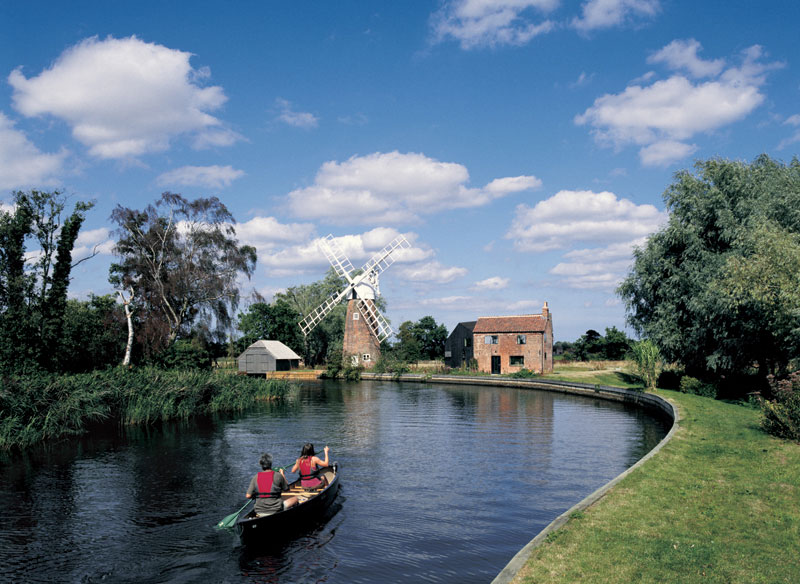 You are currently viewing Michael's 13km paddle on The Broads